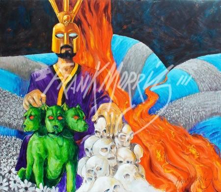 (Y626 ) Hades 91.5 x 107 cm $375