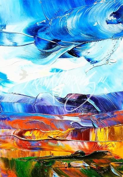 (YPK93)High Winds17x12cm$40