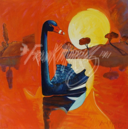 (Y685) Summer Sunset 81 x 82 cm