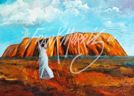 (Y584) Uluru – Ayers 91 x 122 cm $400
